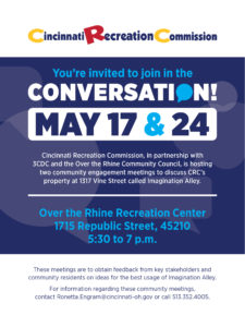 May 17th and 24th Conversation about Imagination Alley